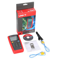 Best Buy UT325 New Style UNI-T 1 set Red Gray Auto Calibration Digital Thermometer High/Lower Signal Output Temperature Meter Tester USB