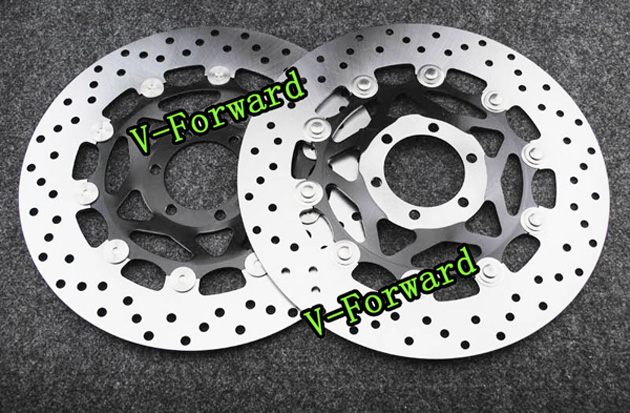 Motorcycle Front Brake Disc Rotors For 250(3MAI) 89/FZ400(4YR1) 96/FZR400 89-92  Universel brand new motorcycle rear brake disc rotors for yamaha 250 3mai 89 fz400 4yr1 96 fzr400 89 92 universel