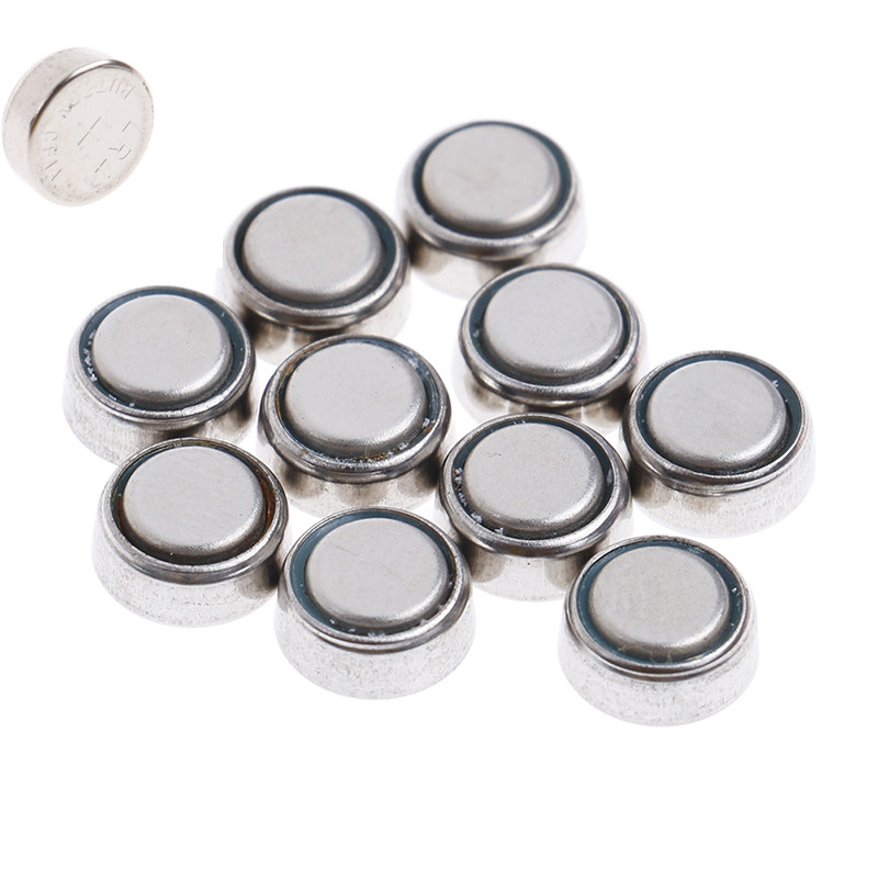 High Quality 10pcs AG3 L736 G3 G3A V3GA V36A LR41 GP192 Button Coin Cell Alkaline Battery