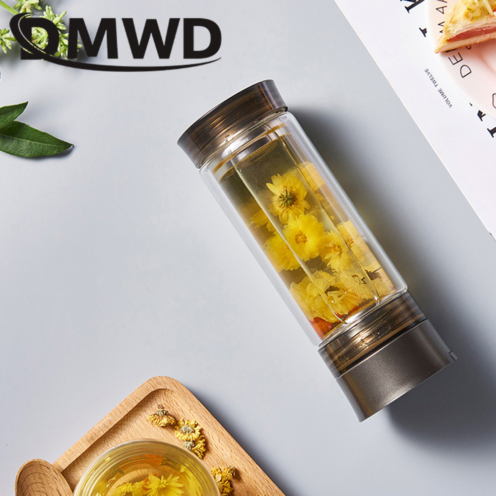DMWD Portable Travel MINI Electric Kettle 220ml Car Hot Water Heating Teapot Glass Cup Coffee Milk Boiling Pot Boiler 110V 220V 220v 600w 1 2l portable multi cooker mini electric hot pot stainless steel inner electric cooker with steam lattice for students