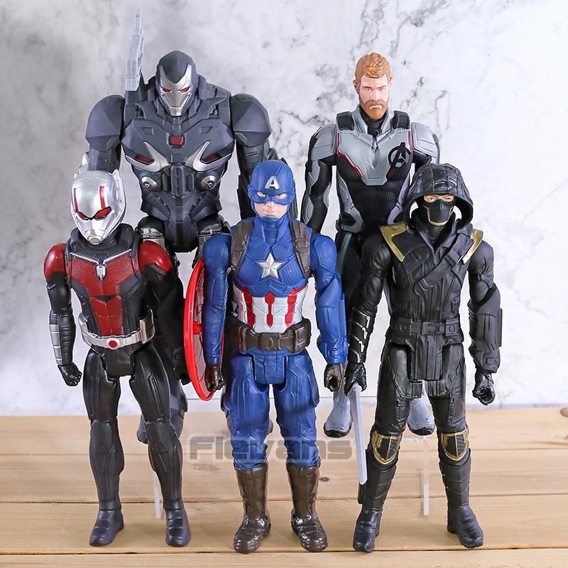 Titan Hero Series Action Figures Avengers Endgame Captain Marvel America Ronin Thanos Hulk Iron Man Thor War Machine Ant-Man Toy