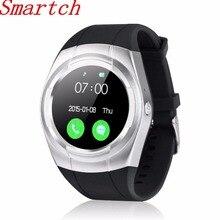 696 T60 Bluetooth Relógio Inteligente TF Cartão SIM Relógio Redondo Pedômetro Monitor de Sono do telefone Chamada Notificação Push Para iOS Android P