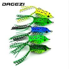 DAGEZI Lifelike Topwater Fishing Lure 5.5cm/8g/pcs fishing Lures pesca Crankbait Hooks Bass Bait fishing Tackle