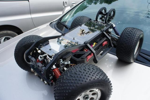 er4-g3 Dirt Protection Blue Dusty Motors Shroud Thunder Tiger mt4-g3 st4-g3
