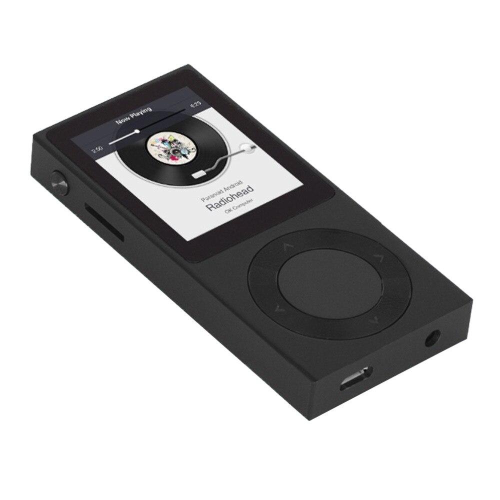 Lecteur de musique MP3 HiFi Bluetooth sans perte en alliage de Zinc Original 100% BENJIE T6 1.8