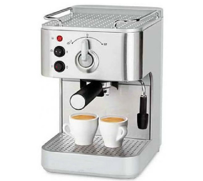 19Bar Semi Automatic Stainless Steel Coffee Maker Cappuccino Espresso Coffee Making Machine italy espresso coffee machine semi automatic maker cup warming plate kitchen