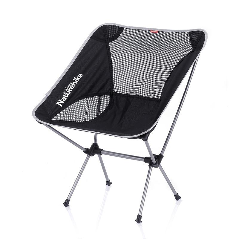 Naturehike outdoor folding chair portable lightweight Moon/aluminum alloy fishing stool sketching leisure chair нивелир ada 6d maxliner