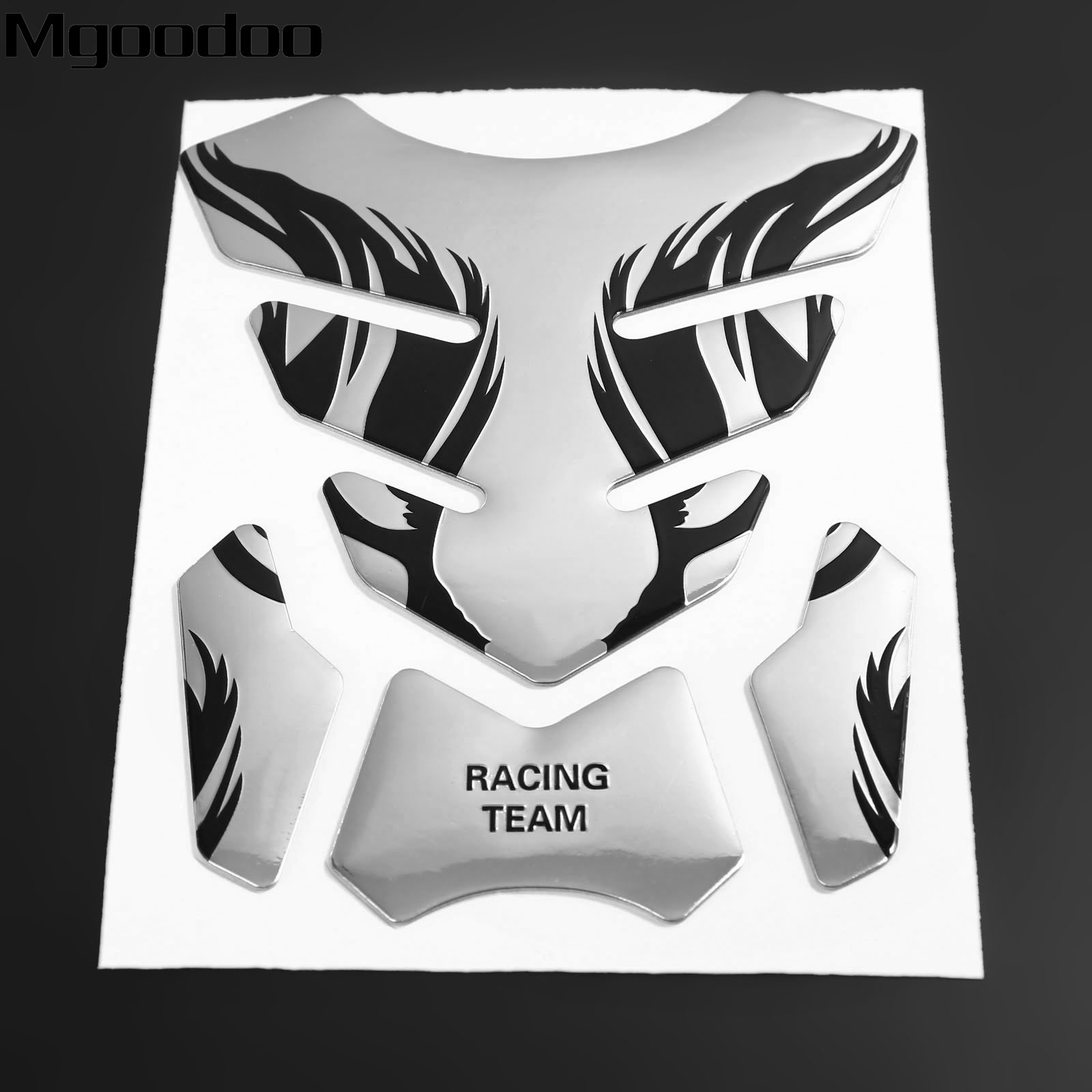 1Pc Motorcycle 3D Fuel Oil Tank Pad Decal Protector Cover Gas Cap Sticker Universal For Honda Harley Yamaha Suzuki Kawasaki honglue motorcycle scooter fuel tank plastic black paint cover oil tank cover for honda dio scooter af27 af28 fuel tank cap