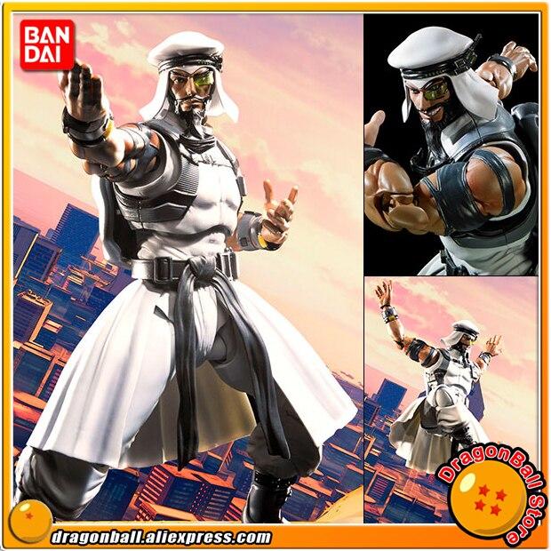 Anime Street Fighter V Original BANDAI Tamashii Nation S.H. Figuarts / SHF Action Figure - Rashid 100% original bandai tamashii nations s h figuarts shf action figure chun li from street fighter