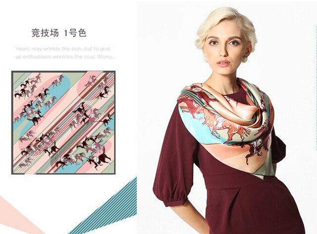 Desigual цветочный printedsilk шаль большие квадрат зеленый женщины autumn100 % чистый шелк шарф 90 * 90 см