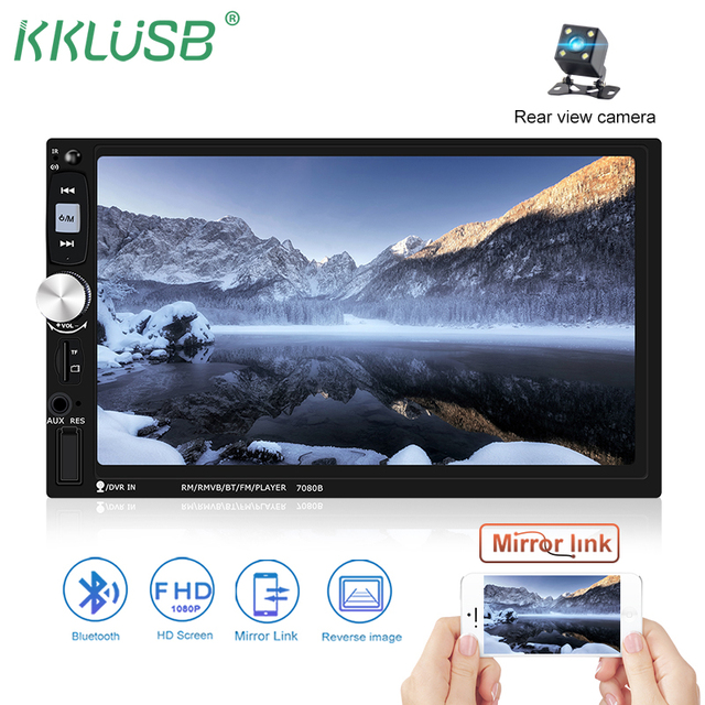 "2 din car radio autoradio 7"" hd multimedia player 2din touch screen2 din car radio autoradio 7\"" hd multimedia player 2din touch screen auto audio car"