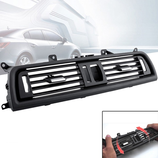 Car Center A/C Air Outlet Vent Panel Grille Cover for BMW 5 Series F10 F18 High Quality Air-conditioning Installation #280009