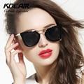 Kdeam очки новейший сплав храм солнцезащитные очки женщины Высокое качество солнцезащитные очки оригинальная модной Gafas óculos De Sol UV400