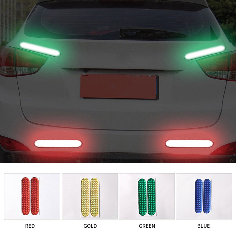2Pcs Car Door Reflective Sticker Warning Tape Car Reflective Stickers Reflective Strips 4 Colors Safety Mark Car Styling-in Car Stickers from Automobiles & Motorcycles on Aliexpress.com   Alibaba Group