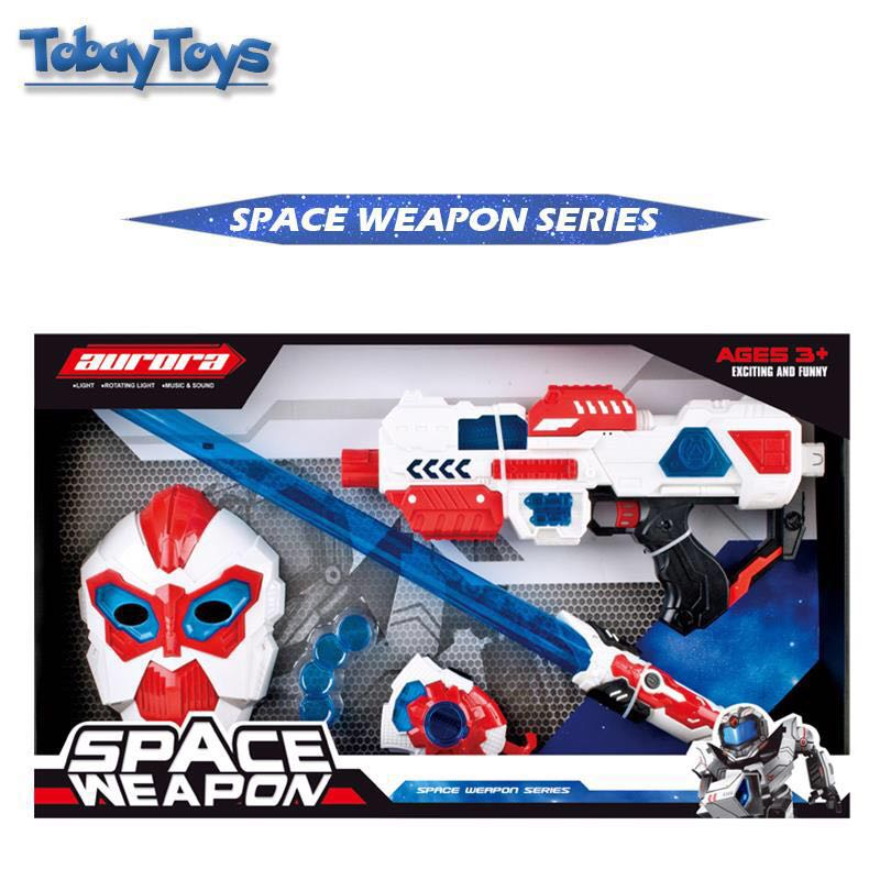 New Funny Plastic Gun Toy Gun Space Wars Space Weapon Plastic Gun Series Toys Parent-Child Interaction For Birthday's Day Gift new strange trick wacky cavecanem desktop game funny family party electric sound dog creative parent child interactive toys