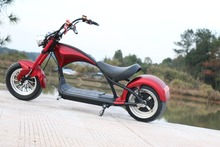 EUR Stock 2000w Adult Electric Motorcycle City Coco with 20ah Removable Battey EEC COC Registered