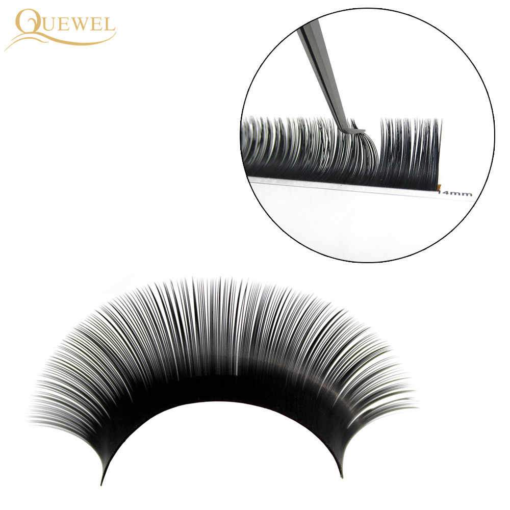 4cd6be30b67 ... False Eyelash Extension 12 Lines/Tray Silk Cilios Soft Individual Eye  lash Extensions C/