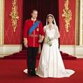 Princesa Kate Vestidos de Boda de Lujo de Largo Manga 2017 V-cuello de Raso Vestidos de Novia Blanco Vestido de Novia Robe De mariage