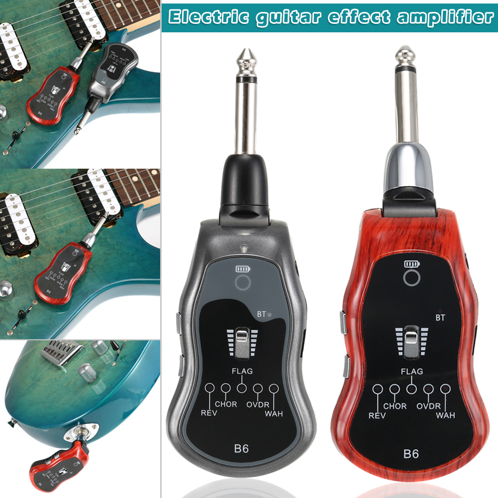 5 Mode USB Charging Digital Guitar Effect Amplifier System for Electric Guitar Support Bluetooth Transmission YS