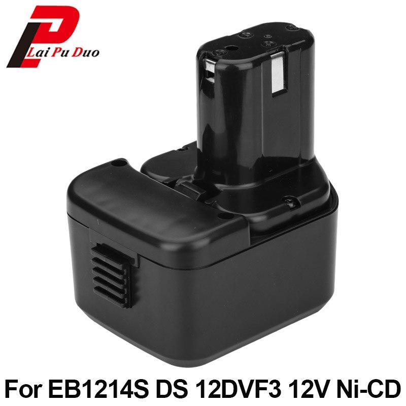 Für Hitachi EB1214S DS12DVF3 2.0Ah 12 v NI-CD power tool ersatz batterie FWH12DF, EB1220HL, DS12DVF2, EB1220HS, WH12DM2, EB1230X