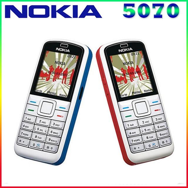 5070 Original Nokia 5070 GSM 2G Unlocked Cheap Cell Phone One year warranty multi-language Free Shipping