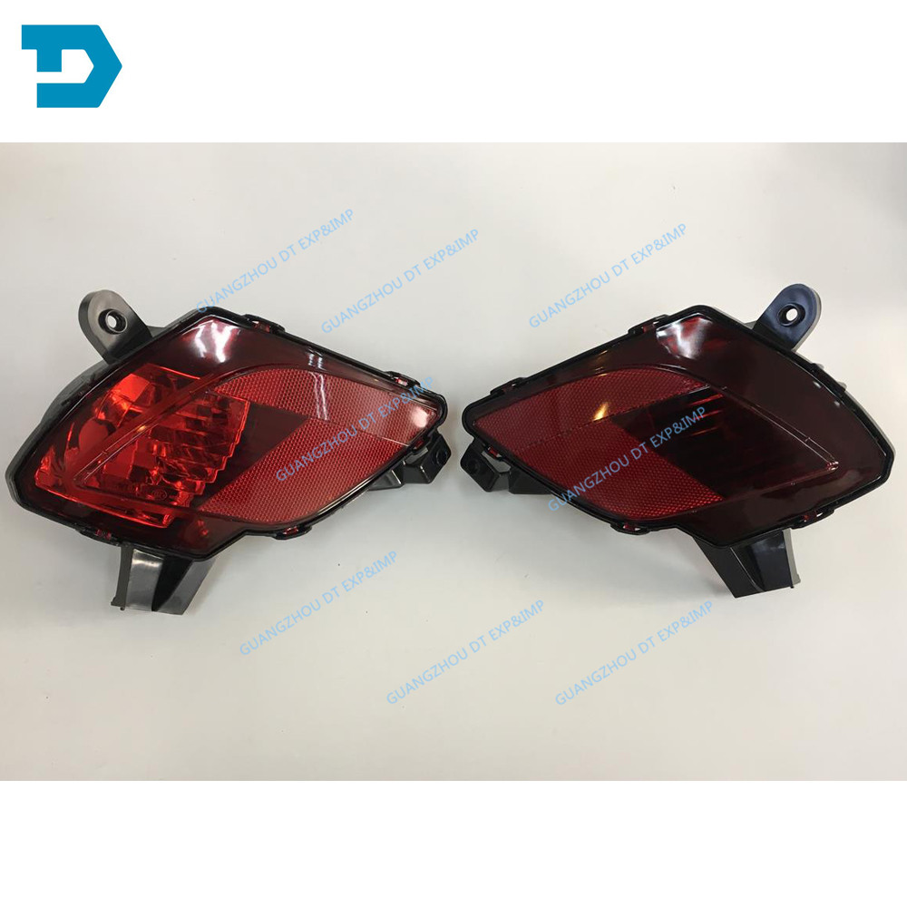 REAR BUMPER LAMP FOR CX5 FOG LAMP SUPPORT FOR MAZDA CX-5 OEM: BS1E-51-680 FOG LAMP COVER Buy 2 For 1 Pair No Bulb