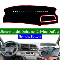 For Ford Transit 2013 2014 2015 2016 Non slip Bottom Dashboard Cover Car Decals Car Stickers Interior Car Accessories