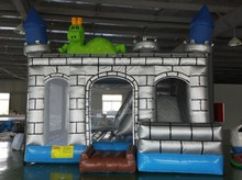 2017 customized PVC inflatable bounce house for sale/ inflatable bouncer combo