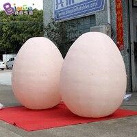 Индивидуальные 2 метра высокие гигантские надувные яйца/Надувное пасхальное яйцо/надувные kinder яйцо для украшения игрушки