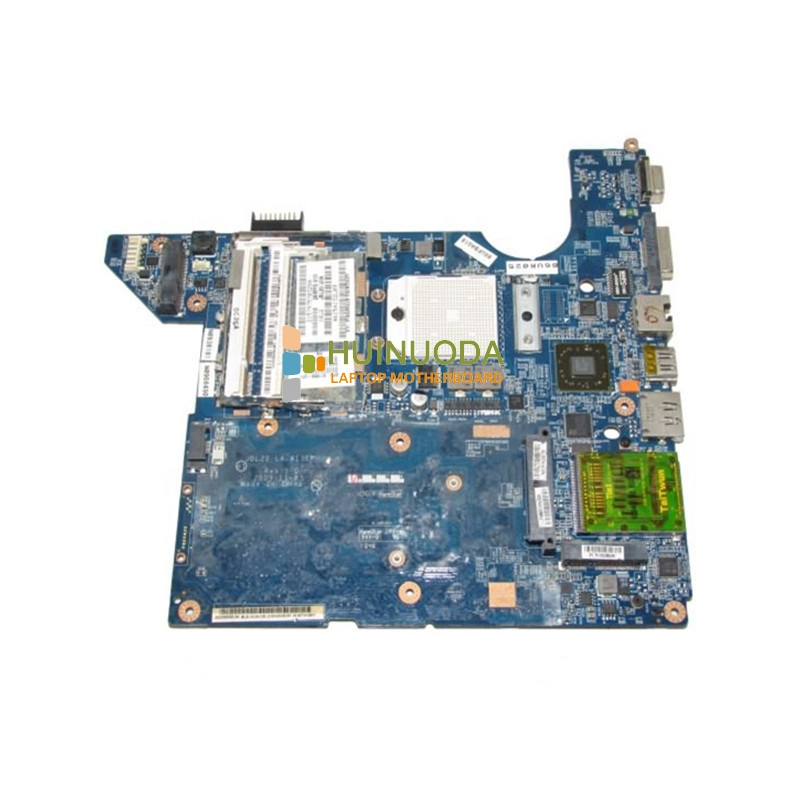 NOKOTION 511858-001 LA-4111P Main Board For HP DV4 Laptop Motherboard Socket S1 DDR2 with Free CPU warranty 60 days 645386 001 laptop motherboard for hp dv7 6000 notebook pc system board main board ddr3 socket fs1 with gpu