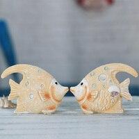 Resin Crafts Ocean Ornaments Ocean Wind Series Mini Animal Decor Home Decoration Figurines Ornaments Gifts Desktop
