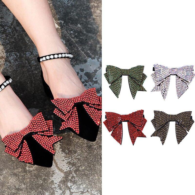 c9415dd65e High quality 1 pair rhinestone bee crystal for high heels shoes ...