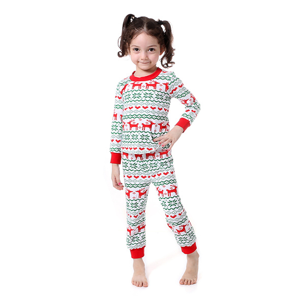 Kaiya Angel Christmas Girls Boutique Outfits Christmas Clothing Set Red Green Green Stripe Shirt Leggings Suit 2 Pcs Pajamas 9