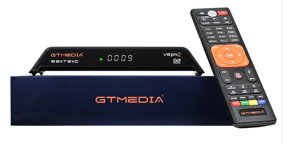 Satellite TV Receiver Gtmedia V8 pro 2 H.265 DVB-S2+T2+DVB-C Satellite Receiver Built in WIFI PowerVu Biss Free sat v8 goldenSatellite TV Receiver Gtmedia V8 pro 2 H.265 DVB-S2+T2+DVB-C Satellite Receiver Built in WIFI PowerVu Biss Free sat v8 golden