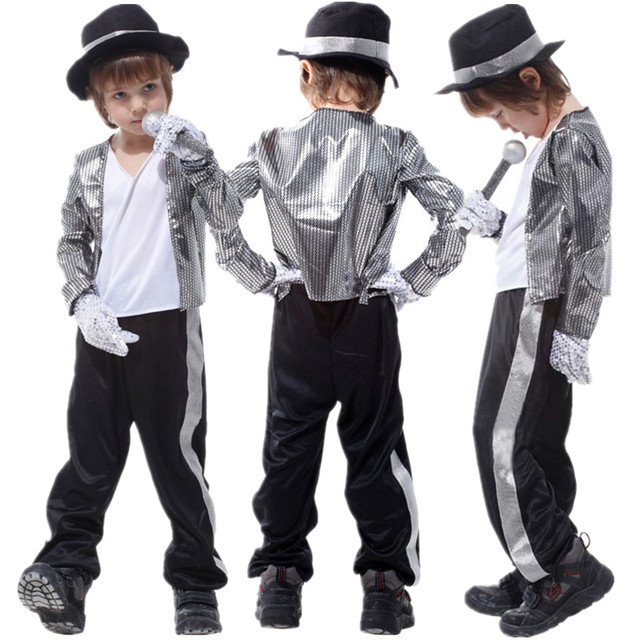 Free Shipping Kids Michael Jackson Costume Halloween Masquerade Party Boys Fancy Dress Children Cosplay Clothes  sc 1 st  AliExpress.com & Free Shipping Kids Michael Jackson Costume Halloween Masquerade ...