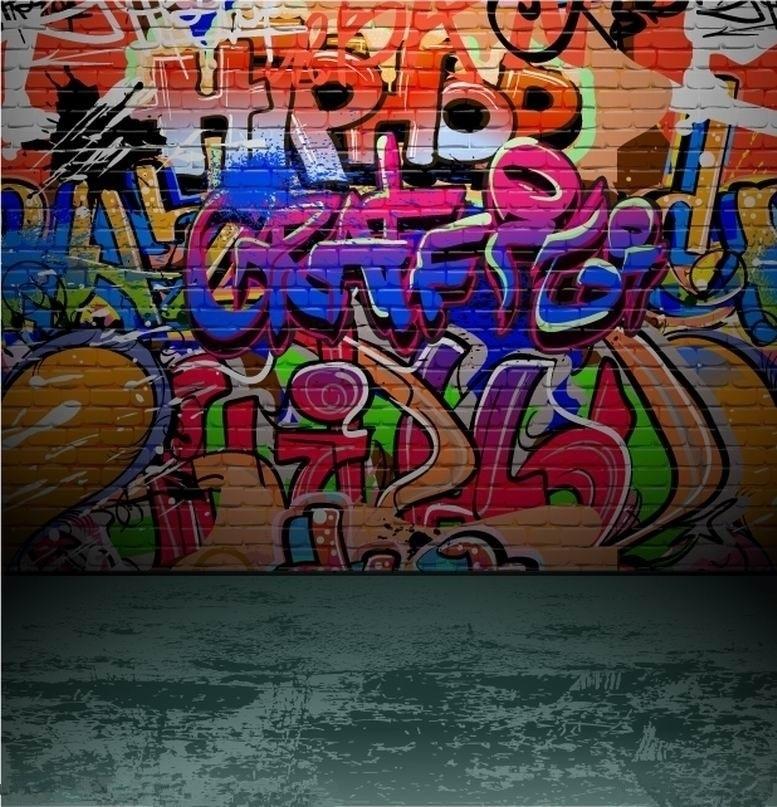 10x10ft Vinyl Custom Photography Background Props Photography Studio Backdrops Graffiti TY-186 бп atx 600 вт exegate atx 600npx
