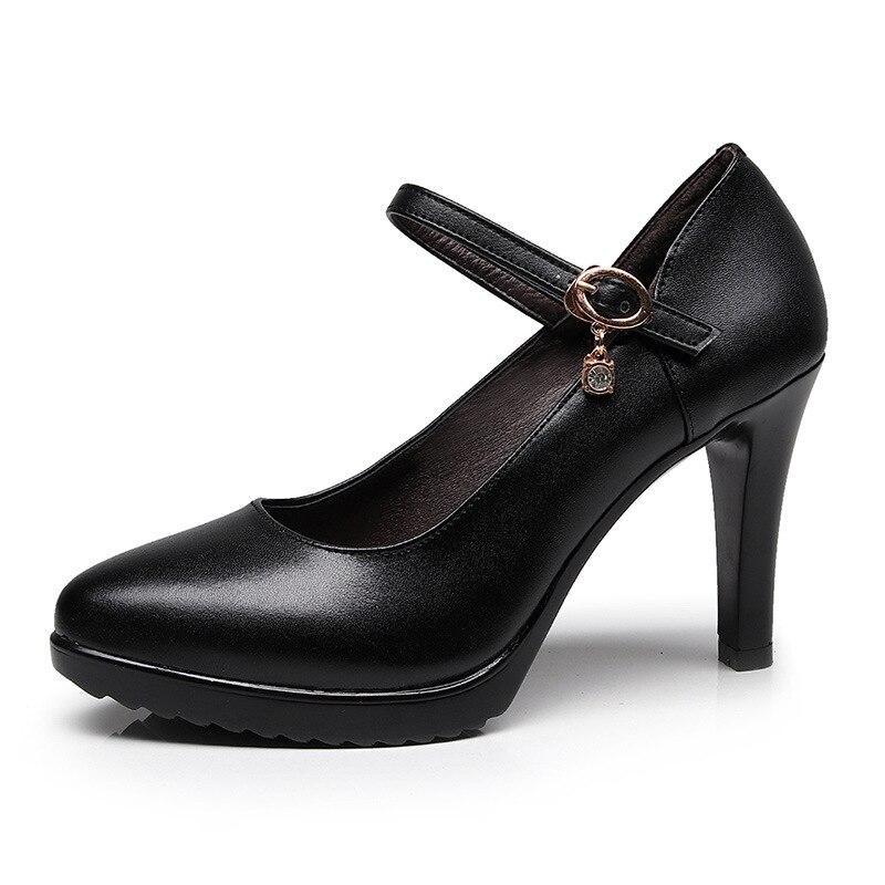 2018 rouge Mariage Chaussures Pointu Noir Automne Bout Cuir forme À Blanc Hauts Pompes En blanc Bureau Split Rouge Talons Femme Femmes Plate De w1Fwqx8tX