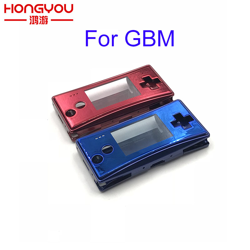 4 in 1 metal Housing Shell Pack for Nintendo GameBoy MICRO GBM Case Cover Repair Part