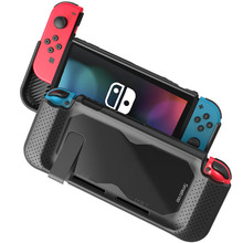 Smatree Hard Transparent Protective Case Silicon For Switch Case Holder Shell Glass For Nintend Switch NS Console