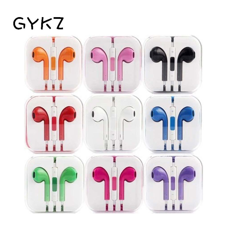 GYKZ 3.5mm Sport Earphone For IPhone Android Mobile Phone Ear Hook Common Headphone Line Type Music Wired Sport Earphone