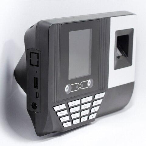 5YOA AF3 Biometric Face Facial Fingerprint Recognition Time Attendance System Machine Device Multan