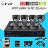 Video Surveillance Night Vision HD CMOS 700tvl Camera Kit 8ch Cctv 960h Realtime Dvr NVR Recorder