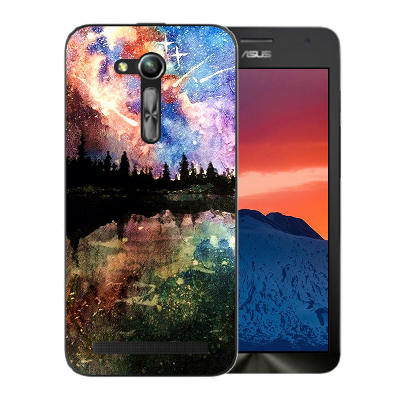 Case For Asus ZB450KL Cases Starry Sky Pattern For Asus Zenfone GO 2nd Gen ZB452KG ASUS_X014D ZB450KL 4.5 inch Case Cover