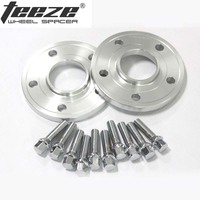 Teeze 2pcs 20mm Thick 5x112 66.6CB Centric Wheel Spacer Hubs M14*1.5 Bolts For Benz B Class