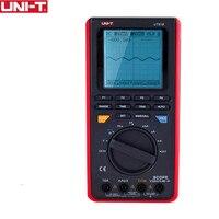 UNI T UT81B ЖК дисплей Ручной цифровой мультиметр осциллограф USB Интерфейс ЖК дисплей метр тестер область диода инструменты Вход чувствительнос