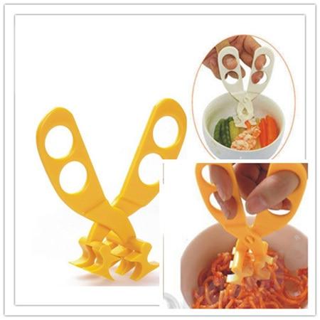 Profesjonalne plastikowe nożyczki do żywności dla niemowląt - Karmienie - Zdjęcie 6