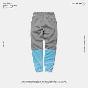 Image 5 - אינפלציה 2020 חדש אוסף סתיו Jogger מכנסי טרנינג טלאי היפ הופ Streetwear מקרית מכנסיים לגברים נשים 8850W