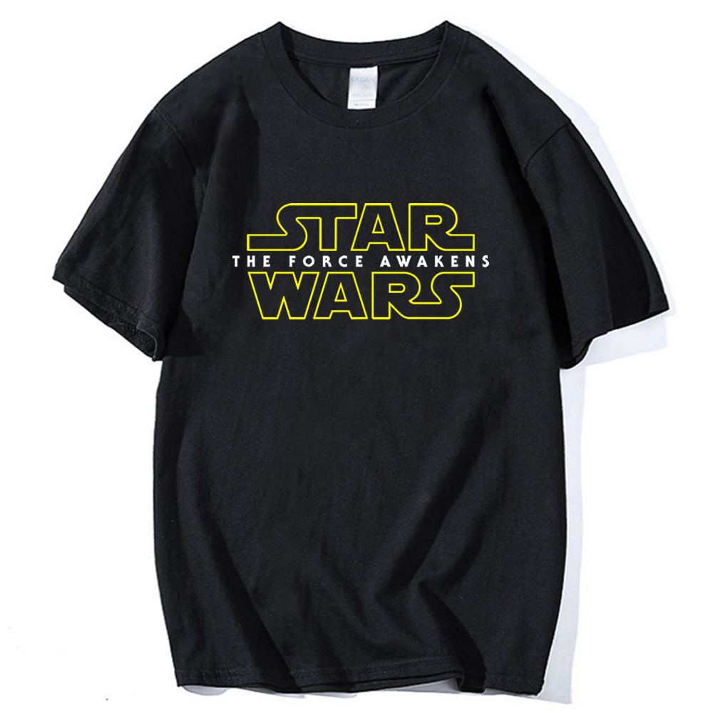 streetwear hip hop funny Brand t shirts New 2019 summer Fashion casual Tops Tees printed star wars Mans cotton o-neck T-Shirt