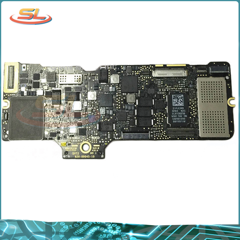 Genuine Laptop Mother board A1534 Logic board For MacBook 12' MF855 i5 8G 1.1Ghz 1.2GHz 1.3GHz Early 2015 2016 Year