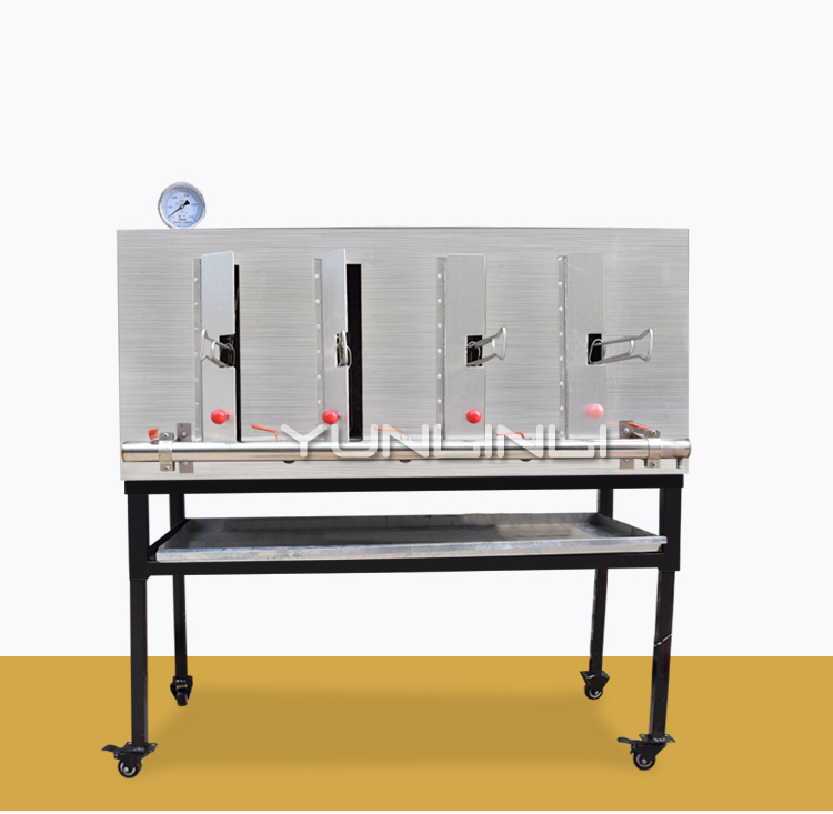 цена на Commercial gas oven charcoal smokeless grilled fish machine stainless steel oven carbon oven electric hot grilled fish oven